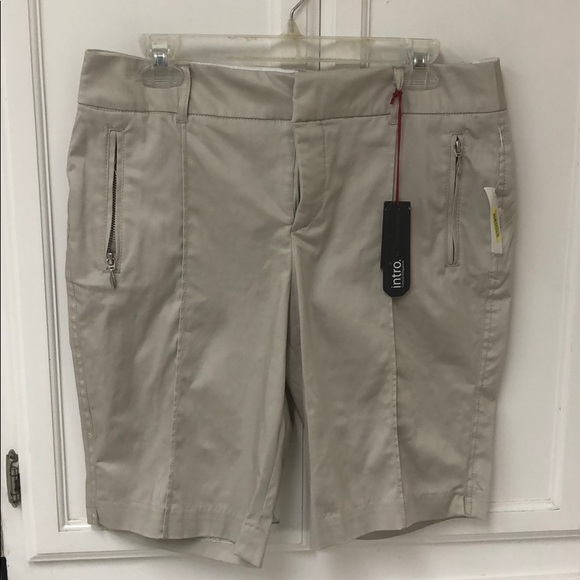 intro. Pants - Intro by Jonathan Ross size 10P sand color NWT